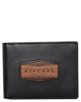 BLACK MENS ACCESSORIES RIP CURL WALLETS - BWLMG10090