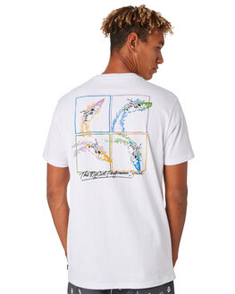 WHITE MENS CLOTHING RIP CURL TEES - CTEVW21000