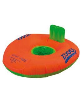 ORANGE BOARDSPORTS SURF ZOGGS SWIM ACCESSORIES - 303213ORNG
