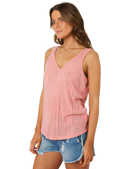 PINK OUTLET WOMENS RIP CURL SINGLETS - GTEXR10020