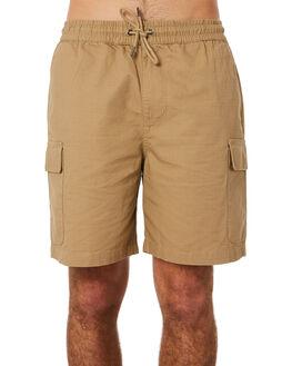 TAN MENS CLOTHING HUFFER SHORTS - MST83S5601TAN