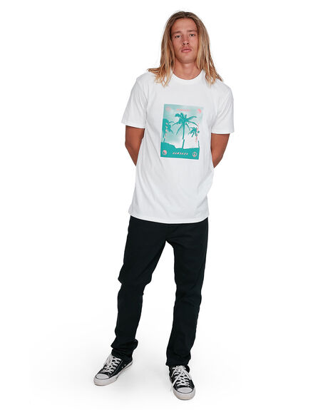 WHITE MENS CLOTHING BILLABONG TEES - BB-9503039-WHT