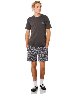 VINTAGE BLACK MENS CLOTHING O'NEILL TEES - 541110741N