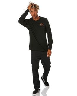 BLACK MENS CLOTHING SWELL TEES - S5204102BLACK