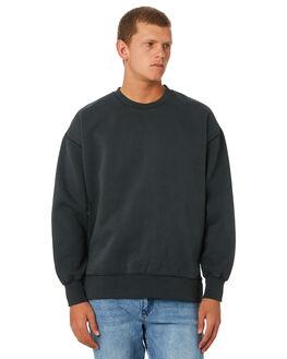 MERCH BLACK MENS CLOTHING THRILLS JUMPERS - TW9-214MBMCBLK
