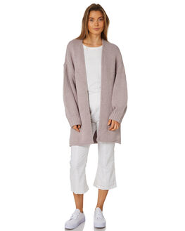 LAVENDER WOMENS CLOTHING ZULU AND ZEPHYR KNITS + CARDIGANS - ZZ2450LLAV