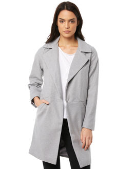 GREY WOMENS CLOTHING ALL ABOUT EVE JACKETS - 6413068GRY
