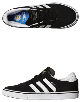 BLACK WHITE BLACK MENS FOOTWEAR ADIDAS SKATE SHOES - G65824BWB
