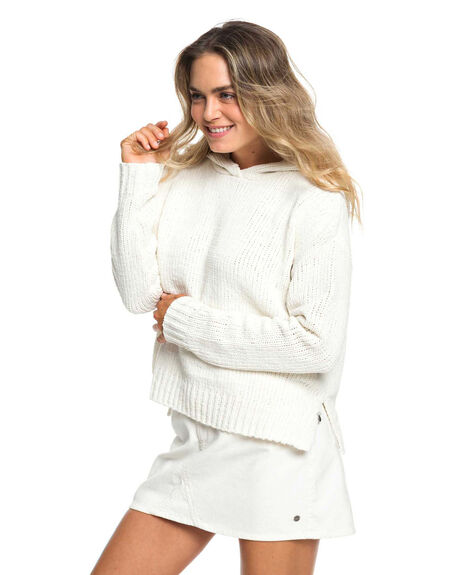 MARSHMALLOW WOMENS CLOTHING ROXY KNITS + CARDIGANS - ERJSW03337-WBT0