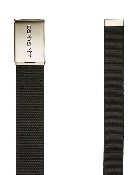 BLACK MENS ACCESSORIES CARHARTT BELTS - I019176-8900