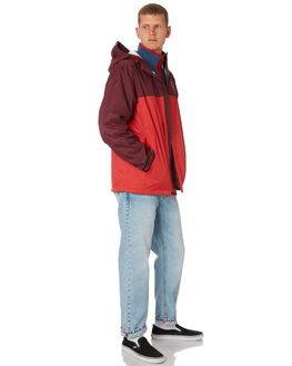 RAGE RED MENS CLOTHING THE NORTH FACE JACKETS - NF0A2VD35PL
