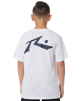WHITE KIDS BOYS RUSTY TOPS - TTB0604WHT