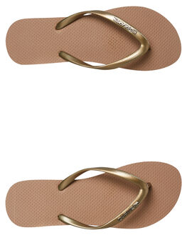 CHAMPAGNE WOMENS FOOTWEAR CARVE THONGS - CVS2507CHAM