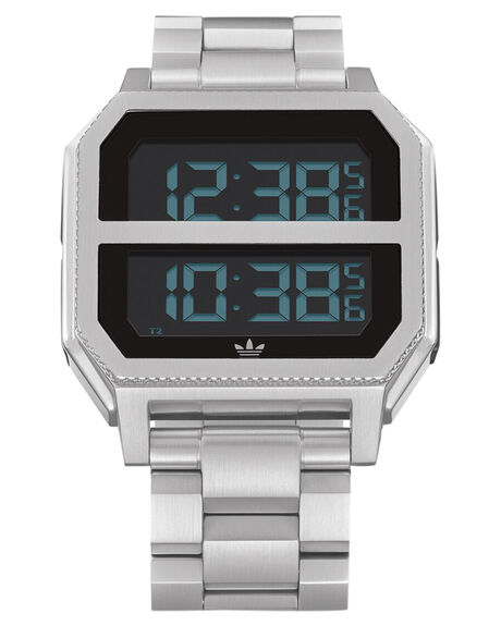 ALL SILVER MENS ACCESSORIES ADIDAS WATCHES - Z21-1920