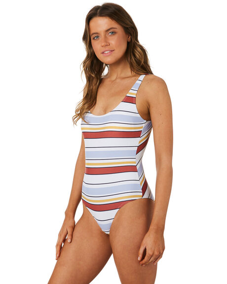 RED BLUE WOMENS SWIMWEAR RIP CURL ONE PIECES - GSIUW11939
