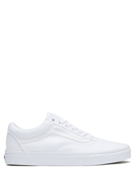 WHITE MENS FOOTWEAR VANS SKATE SHOES - SSVN-0D3HW00WHIM