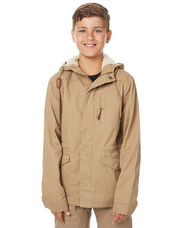 TAN KIDS BOYS SWELL JACKETS - S3172381TAN