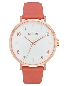 ROSE GOLD SALMON WOMENS ACCESSORIES NIXON WATCHES - A10913028