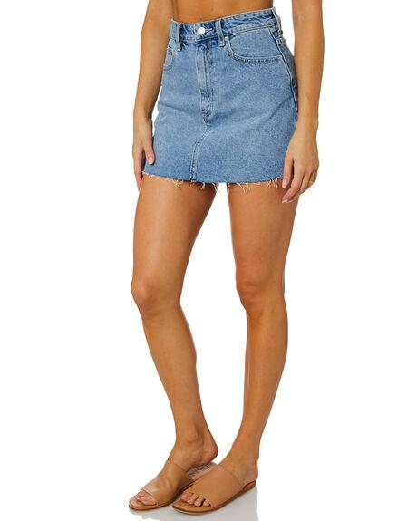 BIG TIME BLUE WOMENS CLOTHING LEE SKIRTS - L-656916-PA1