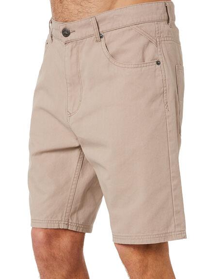MUSHROOM MENS CLOTHING RUSTY SHORTS - WKM1020MSH