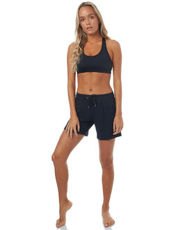 ANTHRACITE WOMENS CLOTHING ROXY SHORTS - ERJBS03086KVJ0