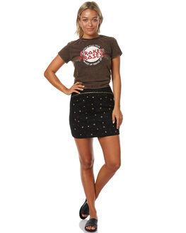 BLACK WOMENS CLOTHING MINKPINK SKIRTS - MP1702435BLK