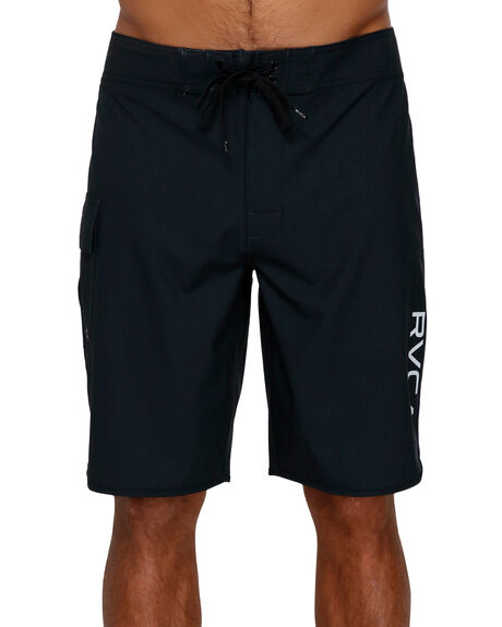 ALL BLACK MENS CLOTHING RVCA BOARDSHORTS - R383412ABLK