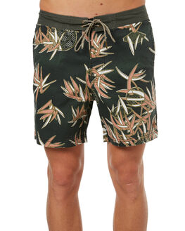 JADE FLORAL MENS CLOTHING DEUS EX MACHINA BOARDSHORTS - DMS72970JADE