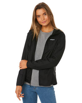 BLACK WOMENS CLOTHING PATAGONIA JACKETS - 24146BLK
