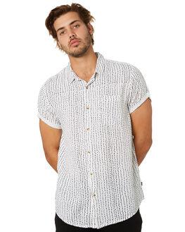 WHITE BLACK MENS CLOTHING ROLLAS SHIRTS - 15837005