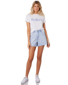 KELLY BLUE WOMENS CLOTHING ROLLAS SHORTS - 13106319