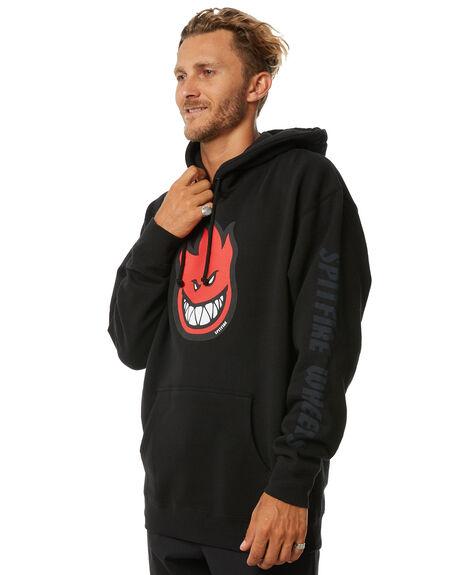 BLACK MENS CLOTHING SPITFIRE JUMPERS - 53110020MBLK