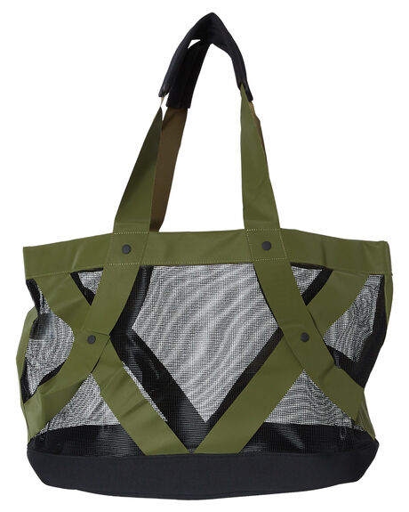 OLIVE CANVAS WOMENS ACCESSORIES HURLEY BAGS + BACKPACKS - HU0039395
