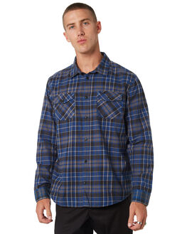 SURPLUS BLUE MENS CLOTHING RVCA SHIRTS - R393200SRBLU