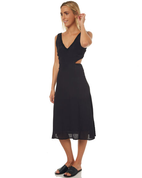 BLACK OUT WOMENS CLOTHING O'NEILL DRESSES - 4421604BLK