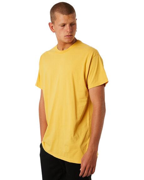 LIGHT MUSTARD MENS CLOTHING BILLABONG TEES - 9572051LMSTD