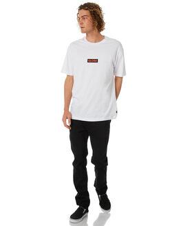 WHITE MENS CLOTHING GLOBE TEES - GB01830002WHT
