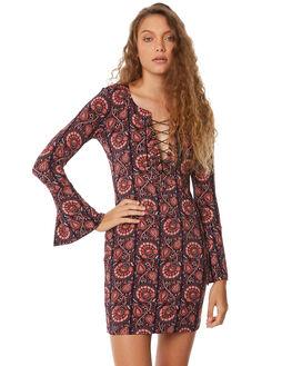 INDIGO WOMENS CLOTHING TIGERLILY DRESSES - T383403INDI
