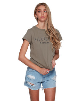 BAYLEAF WOMENS CLOTHING BILLABONG TEES - BB-6581010-BYF