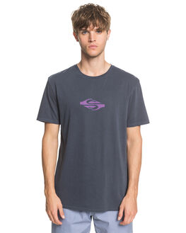 BLUE NIGHTS MENS CLOTHING QUIKSILVER TEES - EQYZT05795-BST0