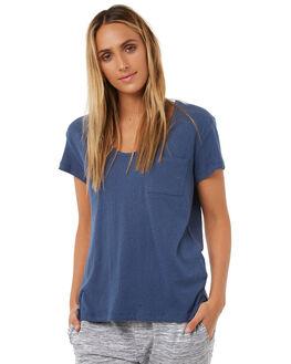 BLUE STEEL WOMENS CLOTHING RUSTY TEES - TTL0863BST