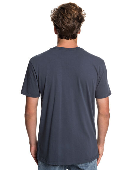 BLUE NIGHTS MENS CLOTHING QUIKSILVER TEES - EQYZT05263-BST0