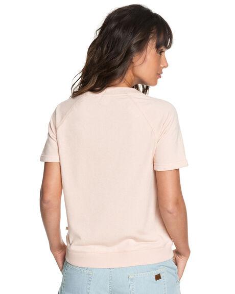 PEACH WHIP WOMENS CLOTHING ROXY TEES - ERJFT03805MEK0