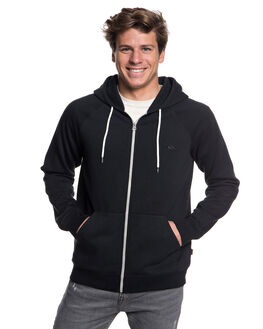 BLACK MENS CLOTHING QUIKSILVER JUMPERS - EQYFT03849-KVJ0