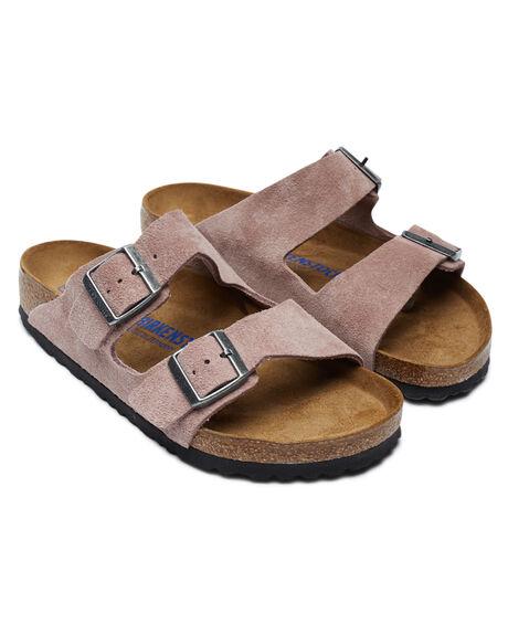 LAVENDER BUSH WOMENS FOOTWEAR BIRKENSTOCK FASHION SANDALS - 1017942LBUSH