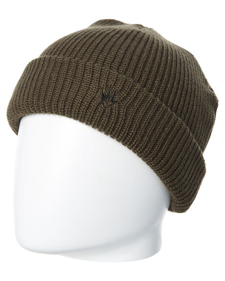 DUSTY OLIVE MENS ACCESSORIES AFENDS HEADWEAR - A182601DOLI