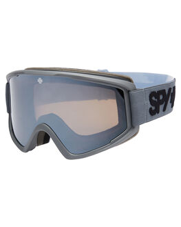 MATTE GRAY BOARDSPORTS SNOW SPY GOGGLES - 3100000000008MGRY