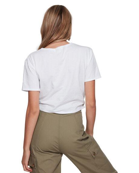 WHITE WOMENS CLOTHING BILLABONG FASHION TOPS - BB-6507131-WHT