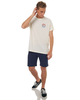 WHITE WASH MENS CLOTHING CATCH SURF TEES - A6TEE032WHT