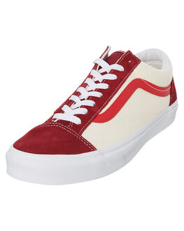 RED WOMENS FOOTWEAR VANS SNEAKERS - SSVNA3DZ3VXZW